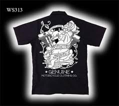 biker work shirts tattoo clothing biker t shirts addiction brand