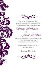 blank wedding invitations blank wedding invitations templates purple miguel and orlando s