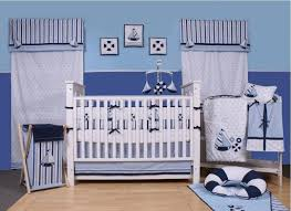 nursery themes platform bed with tufted headboard navy blue paint