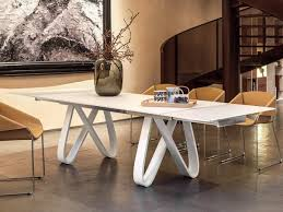 italian extendable dining table italian extending glass top butterfly dining table in a choice of