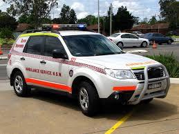 nsw ambulance service rapid response subaru forester flickr
