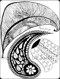 zen paisley coloring creative studio