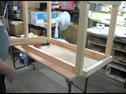 Table With Folding Legs Folding Leg Work Table Youtube