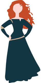 free vector graphic disney merida brave princess free image