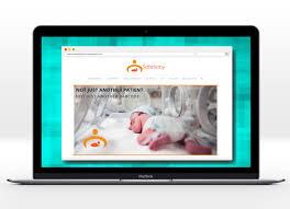 website homepage design safebaby web design and content development