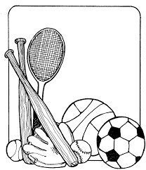 great sports coloring page 8 6527