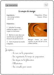exercice recette de cuisine recettes mitsouko au cp
