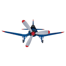 hunter fantasy flyer 48 in indoor blue ceiling fan 59031 the
