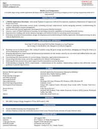 Pl Sql Developer Resume Sample by Mobile Web Developer Cover Letter