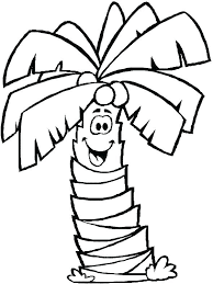 coloring pictures of a palm tree palm tree pictures to color coconut tree coloring page palm tree