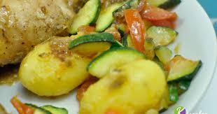 courgette cuisiner poêlée de légumes pommes de terre courgette recette par chef