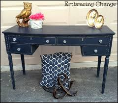 french provincial writing desk in artissimo milk paint