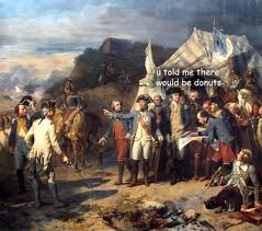 Old Painting Meme - if george washington paintings could talk dose of funny