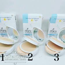 Bedak Pixy bedak pixy 2 layer health makeup on carousell