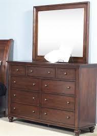 hamilton storage bed 6 piece bedroom set in cinnamon finish by