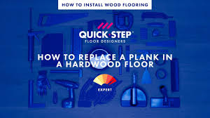 how to replace a plank in a hardwood floor tutorial by