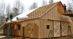 Barn Roof by Modular Barns Prefab Horse Barns Horizon Structures