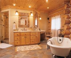 log home bathroom ideas enchanting home bathrooms on log home bathroom designs image