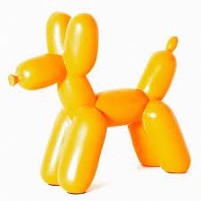 Book End Sdma Big Top Orange Balloon Dog Bookend San Diego Museum Of Art