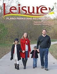 plano parks u0026 recreation fall 2016 leisure catalog by plano parks