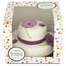 cake tier waitrose 2 tier seasonal flowers cake 20 servings 1195g from ocado
