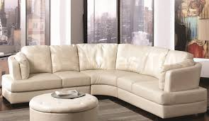 Microfiber Sectional Sofa With Ottoman by Sofa Chairs For Small Spaces Small Sectional Couch Microfiber