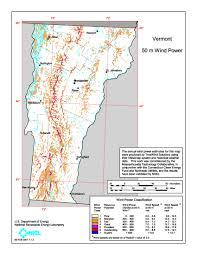 State Of Vermont Map by Download Free Vermont Wind Energy Maps
