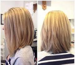 medium wedge hairstyles back view long angled bob haircut back view amanda s natural