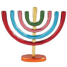 hanukkah menorahs for sale buy anodized aluminum hanukkah menorah menorahs for sale 3