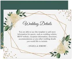 reception card 14 wedding reception card designs templates psd ai free
