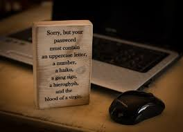 office decor wood desk decor block funny quote stained