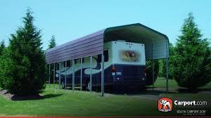 12x24 Carport Rv Carport 12 U0027 X 41 U0027 With Regular Roof Shop Metal Carports Online