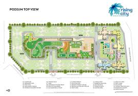floor plans rising city residential apartments project in mumbai
