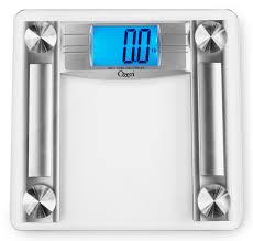 Eatsmart Digital Bathroom Scale by Digital Bathroom Scale Image Of Beurer White Lcd Digital