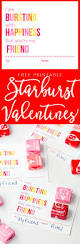 printable starburst valentine cards yellow bliss road