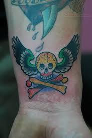 33 best skull wrist tattoos images on pinterest wrist tattoos