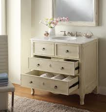 distressed wooden cream bathroom vanity white vanity bathroom 48