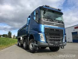 volvo heavy duty trucks for sale used volvo fh 540 8x4 tandemløft vds skinn dump trucks year