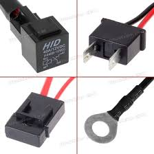 car xenon h7 hid conversion kit relay wire harness adapter wiring
