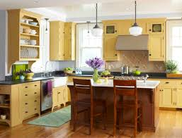 Kitchen Wall Ideas Paint by Yellow Kitchen Decoration Yellow Kitchen Colors 22 Bright Modern