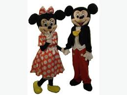 mickey minnie mouse disney mascot costume hire 25 fancy