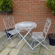 Grey Bistro Table Buy Ascalon Heritage Bistro Set Antique Grey Asca 1005