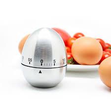 Mechanical Decor Amazon Com Eberry Stainless Steel Egg Shape Kitchen Timer