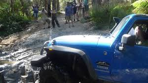 badass blue jeep 2 door jk 2
