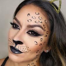Leopard Halloween Costume Leopard Halloween Makeup Lishalovesmakeup Preen