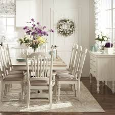 Cream Dining Room Sets White Dining Table And Chairs Gooding Set - Cream dining room sets