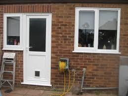 Patio Door Cat Flap by Back Door With Window Btca Info Examples Doors Designs Ideas