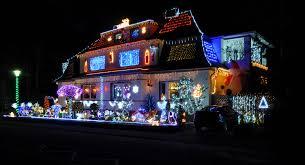 commonsphoto challenge2013 december coloured light christmas house