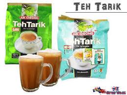 Teh Tarik aik cheong instant teh tarik milk tea beverage no sugar non dairy