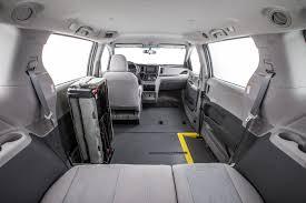 toyota vans vmi toyota sienna commercial ada compliant northstar e360 minivan